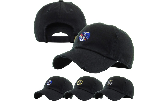 fca9cfd37e82d Vintage NASA Insignia Dad Hat Collection Baseball Cap Polo Style Adjustable  Worm