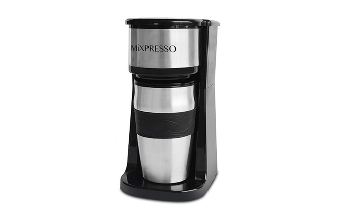 944f58b8f60 2 in 1 Portable Coffee Maker Coffee Machine for Ground Coffee and Coffee  Capsule