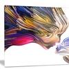 Metaphorical Mind Painting Contemporary Metal Wall Art 28x12