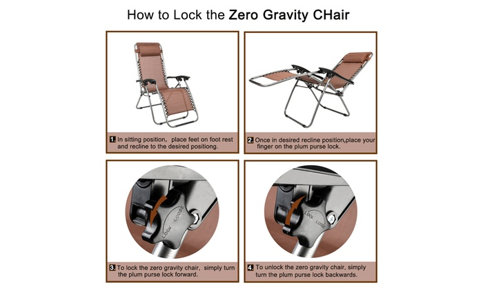 Tremendous Up To 37 Off On 3 Pcs Zero Gravity Chair Pati Groupon Ncnpc Chair Design For Home Ncnpcorg