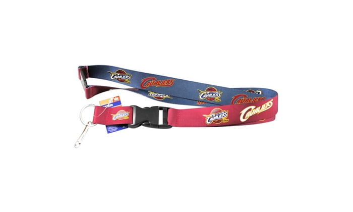NBA Sports Team Reversible Clip Lanyard Keychain Id Ticket Holder