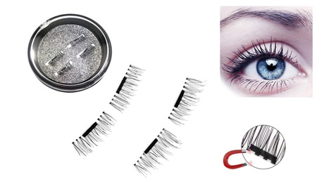 Magnetic False Eyelashes Handmade 3D Natural Resuable EyeLash Enhancer 4040b2e8-2e20-472e-853f-940736574e68