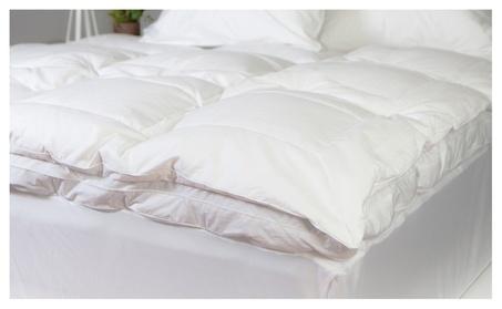 Luxurious Liza Jane Collection Feather Bed Topper 658e8331-fd98-4a1a-954e-7d6741dbd929