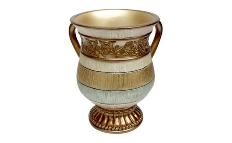 A & M Judaica and Gifts 87994 Polyresin Washing Cup - Stem 6.5 in. bd51f6a6-ea05-4eec-999b-9d31f4f494ca