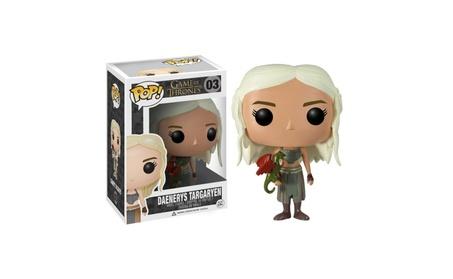 Funko Pop! Game of Thrones - Daenerys Targaryen Vinyl Figure (Bundled - Yellow a5a3ddc6-cdfa-4677-827d-6b003d31366e