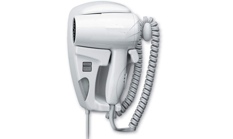 Beauty Quiet Wall Mounted Hangup Hair Dryer with Night Light photo