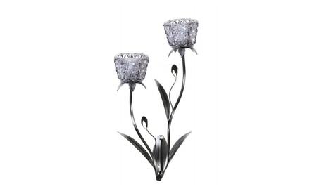 Glass Blooms Candle Wall Sconce db3b39cb-95fc-452e-99db-5426978593cb