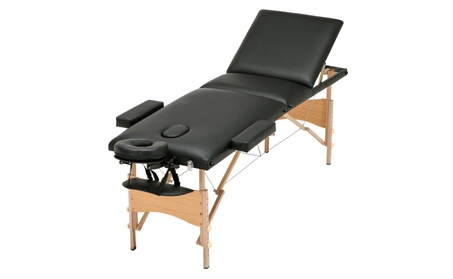 """3 Fold 84""""L Massage Table Portable Facial SPA Bed w/Free Carry Case 62f66807-8443-4f10-9fe5-a1135707d9b1"""