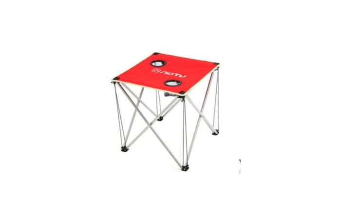 Outdoor Camping Table Ultralight Portable Folding Oxford Fabric Table