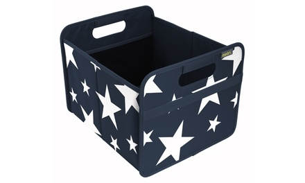 Novelty Star Print Foldable Box and 12-Bottle Wine Carrier