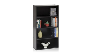 Furinno 11209EX Pasir 4-Tier Open Shelf Cabinet
