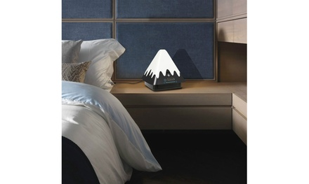 KOCASO Snowcapped Mountain Color Changing Table Lamp