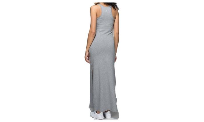 019f3b0b12 Lululemon Refresh Maxi Dress Heathered Medium Grey