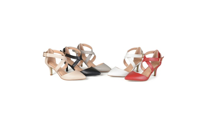 Journee Collection Womens Pointed Toe Matte Pumps