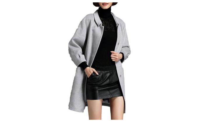 DPN Women's 2015 New Trendy Wool Blend Warm Anoraks