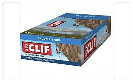 Clif bar Energy Bar Chocolate Chip 2.4 Ounce Protein Bar 12 Ct