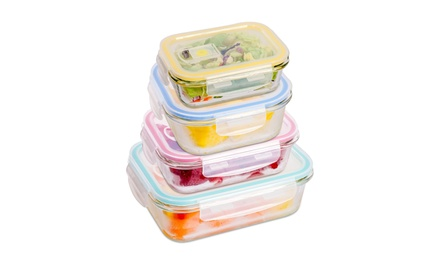 Wexley Home Oven-Safe Borosilicate Glass Meal Prep Containers (8-16-24 PC) Was: $60 Now: $12.99.