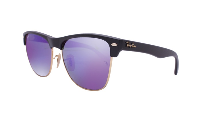Ray Ban Clubmaster Oversized Rb4175 877 1m 57 Black
