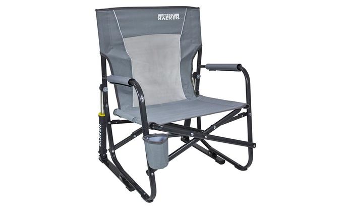 Magnificent Gci Outdoor Firepit Rocker Portable Folding Low Rocking Chair Frankydiablos Diy Chair Ideas Frankydiabloscom