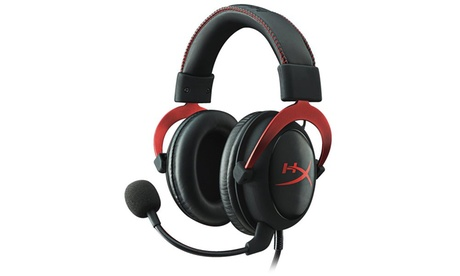 HyperX Cloud II Gaming Headset for PC & PS4 & Xbox One, Nintendo Switch - Red 77547cb0-7c02-4596-9988-04bcc05a3943