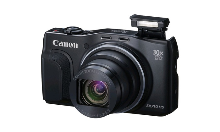 Canon PowerShot SX710 HS 20.3MP 30x Opt Zoom HD 1080p Digital Camera