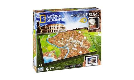 4D Cityscape Time Puzzle - National Geographic - Ancient Rome: 570 Pcs 493b683b-cd05-4edf-8f3b-14e08365f75f
