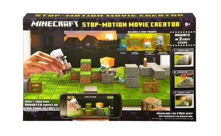 Mattel Minecraft Stop Motion Movie Creator e8552ff5-46d7-41a1-9964-46b1f796770d