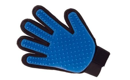 Pets De-Shedding Gloves Hair Remover Mitt, Massage Tool- Finger Design dedccabf-2b30-476c-b0d1-1531e32caead