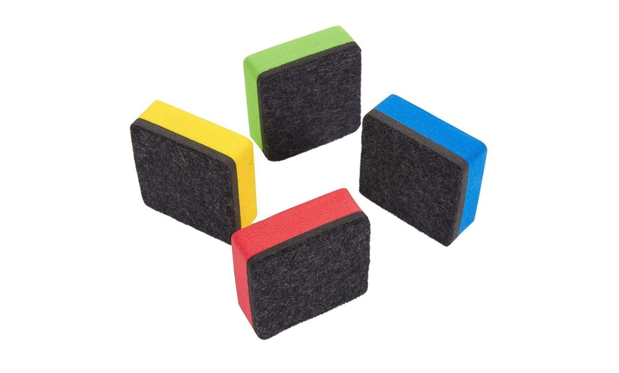 24 Pack Magnetic Whiteboard Eraser For