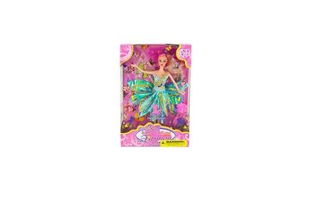 Butterfly Fairy Fashion Doll with Hairbrush 1fab69ea-322a-42ab-b9bb-a5fe3c21a9d1
