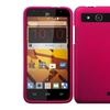 Insten For Zte Speed New Thin Slim Hard Snap On Shell Case Hot Pink