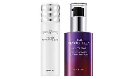 Missha First Treatment Essence Mist(50ml) + Night Repair Ampoule(40ml) 4355ba34-39a2-46f2-8178-66e05c77f1c7