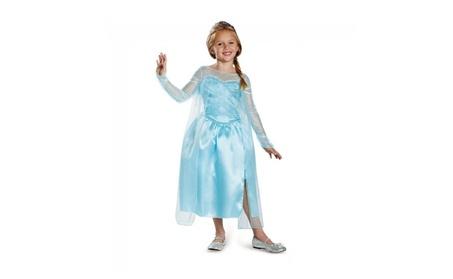 Disguise Frozen Elsa Snow Queen Gown Classic Girls Costume 4a9d800a-550c-49e8-9792-a2c854363ca8