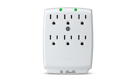 6-Outlet SurgeMaster Wall-Mount Surge Protector photo