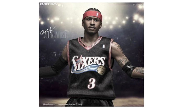 cheap for discount 513e3 5ef5d Enterbay X Nba Collection - Allen Iverson 1/6 Scale Figure ...