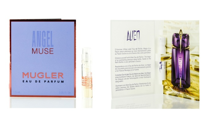 Alien And Angel Muse By Thierry Mugler Vial Bundle For Women Groupon