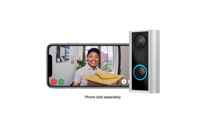 Ring Door View Cam Video Doorbell motion activated alerts Easy installation