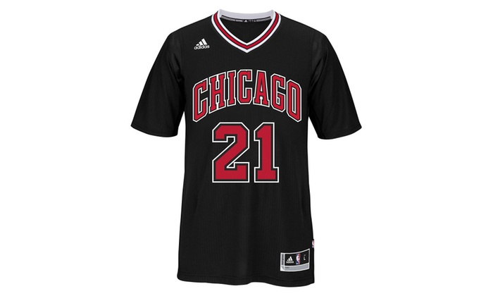 los angeles ea383 ceaca Chicago Bulls Jimmy Butler #21 Swingman Jersey NBA Black Stitched