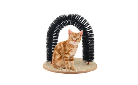 Cats Self Grooming Massaging Playing Safe and Healthy Arch Toy 7d5f1246-f92e-40be-a24c-58a3f0937d62