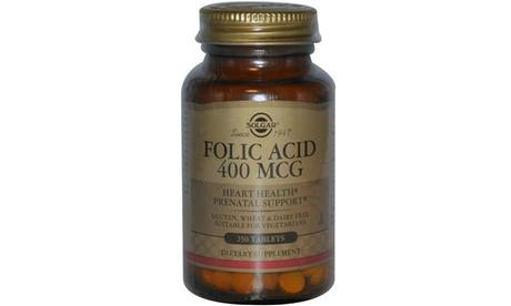 Solgar Folic Acid 400 mcg