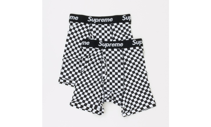 5f15b5ba4105 Up To 62% Off on Supreme Hanes CHECKERED Boxer...