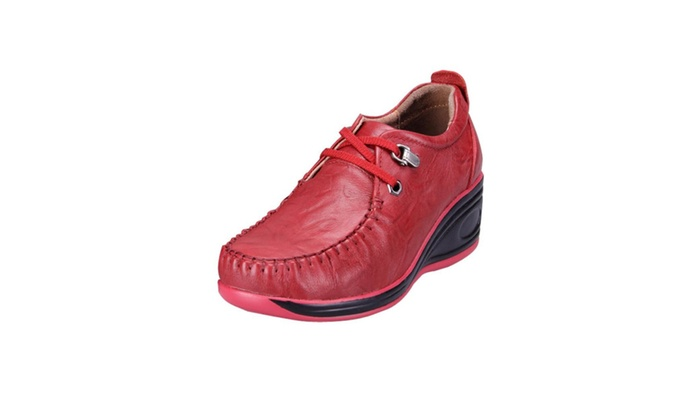 Women's Casual Wedge-Soled Shoes