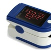 Fingertip Pulse Oximeter Blood Oxygen Saturation Monitor With Cover