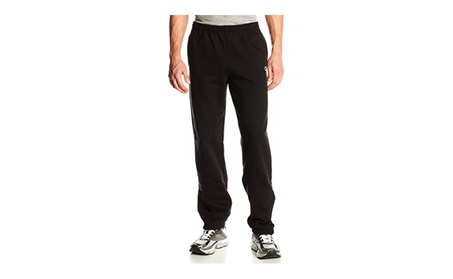 Black Champion Men's Elastic Hem Eco Fleece Sweatpant 7fe56f02-0eab-407b-b549-10f9719dfa4c