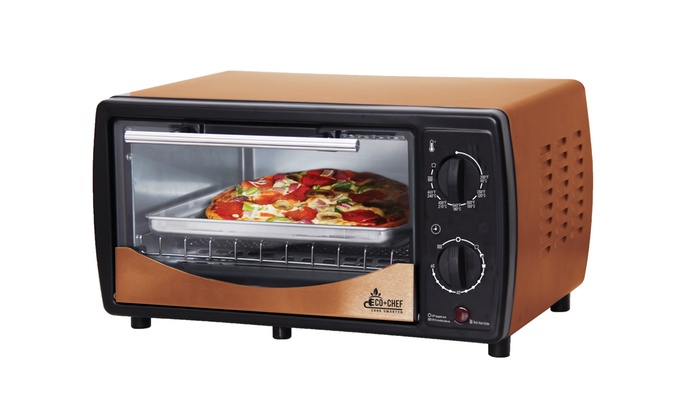 Eco Chef Toaster Oven Copper Series