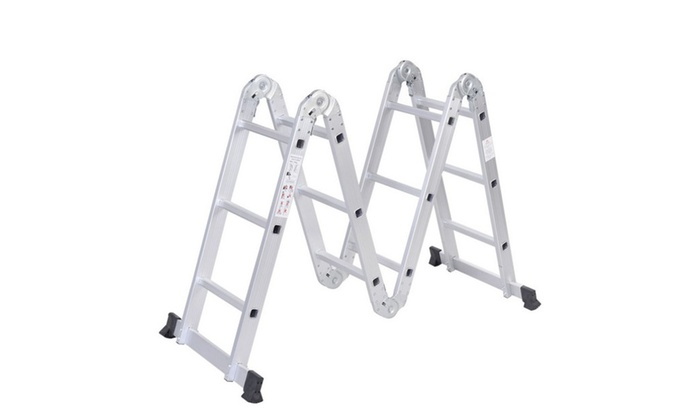 Multi Purpose Aluminum Ladder Folding Step Ladder Extendable