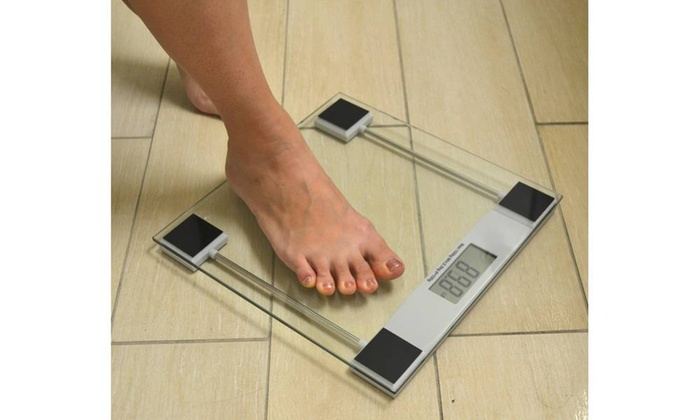Digital Glass Bathroom Weight Scale ...