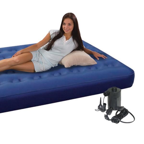 Heavy Duty Air Mattress >> Heavy Duty Pvc Air Bed Queen Bed Size Air Mattress