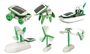 DIY 6-in-1 Educational Solar Robot Vehicles