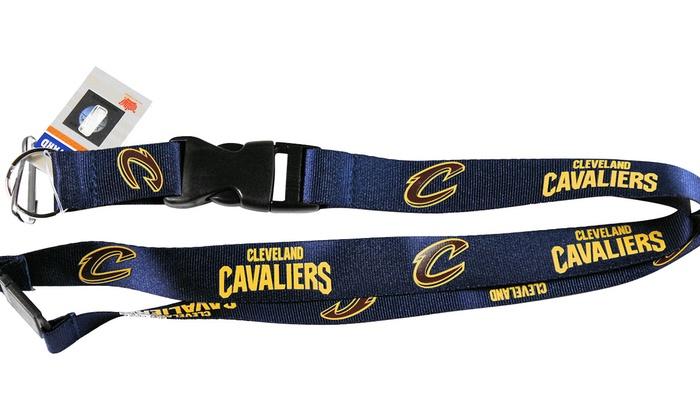 NBA Cleveland Cavaliers Camo Lanyard with Detachable Buckle